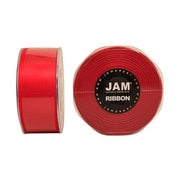 JAM Paper® Double Faced Satin Ribbon, 1.5 Inch Wide x 25 Yards, Red, Sold Individually (808SARE25)