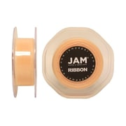 JAM Paper® Sheer Organza Ribbon, 7/8 Inch Wide x 25 Yards, Ivory, Sold Individually (807SHIV25)