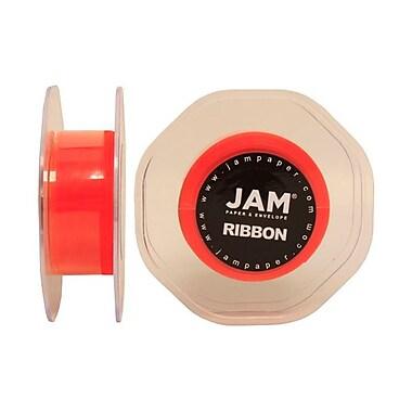 JAM Paper® Sheer Organza Ribbon, 7/8 Inch Wide x 25 Yards, Orange, Sold Individually (807SHOR25)