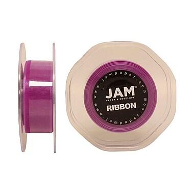 JAM Paper® Sheer Organza Ribbon, 7/8 Inch Wide x 25 Yards, Purple, Sold Individually (807SHPU25)