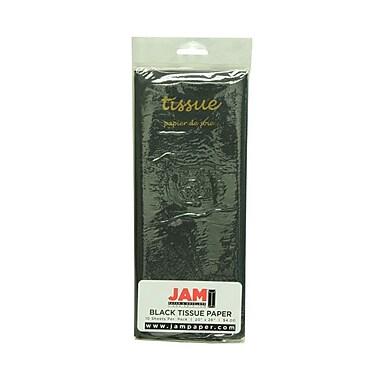 JAM Paper® Tissue Paper, Black, 10 packs of 10 (1152348g)