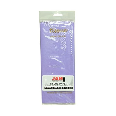 JAM Paper® Tissue Paper, Lilac Purple, 10/Pack (211515213)