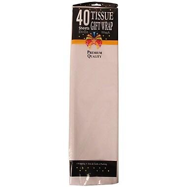 JAM Paper® Tissue Paper, White, 40/Pack (211518944)