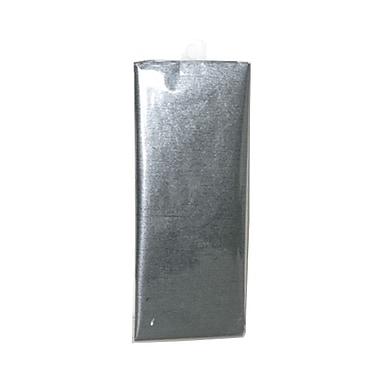 JAM Paper® Shimmer Tissue Paper, Pewter Graphite Metallic, 15/Pack (1162406g)