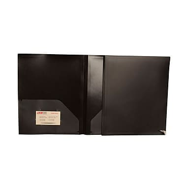 JAM Paper® 9 1/2in. x 11 1/2in. Two Pocket Medium Weight Folders