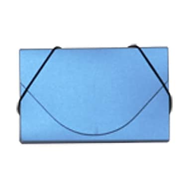 JAM Paper® Plastic Business Card Cases With Round Flap