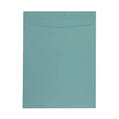 JAM Paper® 100/Pack 9in. x 12in. Clasp & Open End Straight Flap Envelopes With Gummed Closure