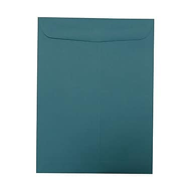 JAM Paper® 9 x 12 Open End Catalog Envelopes, Teal Blue, 50/Pack (31287536g)