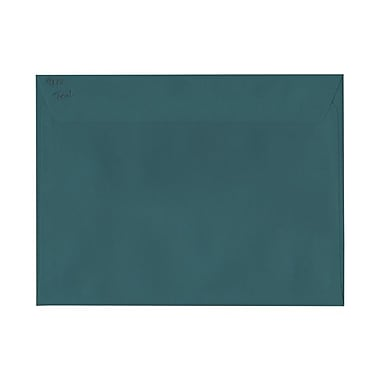 JAM Paper® 9 x 12 Booklet Envelopes, Teal Blue, 50/Pack (272316030g)
