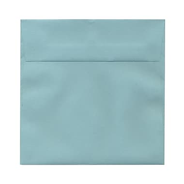 JAM Paper® 6.5 x 6.5 Square Envelopes, Aqua Blue, 1000/Pack (LEBAAQ06B)