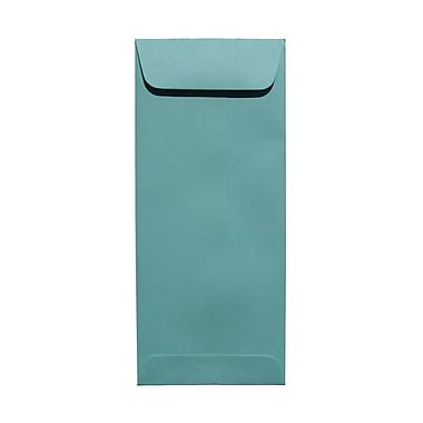JAM Paper® #10 Policy Envelopes, 4 1/8 x 9.5, Aqua Blue, 100/Pack (21520986g)