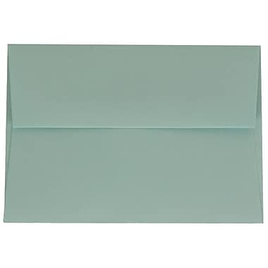 JAM Paper® 4bar A1 Envelopes, 3.63 x 5 1/8, Aqua Blue, 1000/Pack (5157439B)