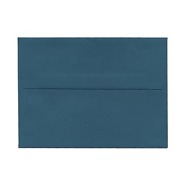 JAM Paper® A6 Invitation Envelopes, 4.75 x 6.5, Teal Blue, 100/Pack (157462g)