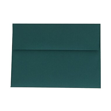 JAM Paper® A7 Invitation Envelopes, 5.25 x 7.25, Teal Blue, 1000/Pack (21517152B)