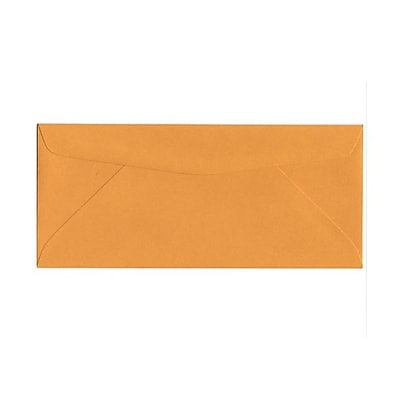 JAM Paper 10 Business Envelopes 4 1 8 x 9 1 2 Brown Kraft 25 pack 3984