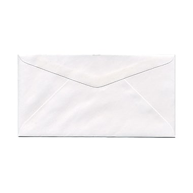 JAM Paper® Monarch Envelopes, 3.88 x 7.5, White, 1000/Pack (04093007B)