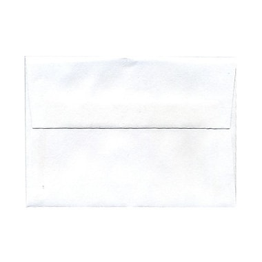 JAM Paper® 4bar A1 Envelopes, 3.63 x 5 1/8, White, 250/Pack (47385g)