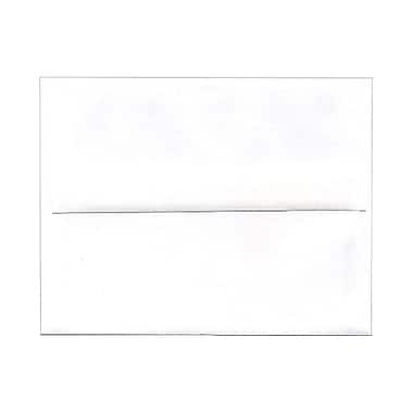 JAM Paper® A2 Invitation Envelopes, 4.38 x 5.75, White, 1000/Pack (MOOP6250LDB)