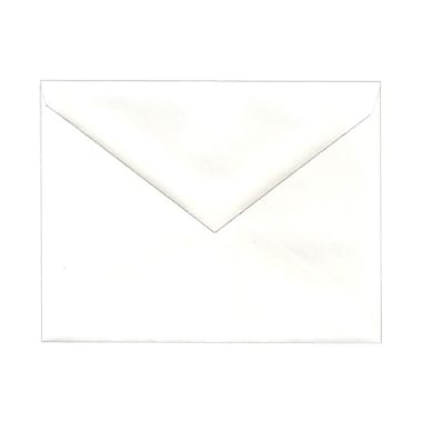 JAM Paper® Booklet V-Flap Envelopes with Gummed Closure, 4-3/8