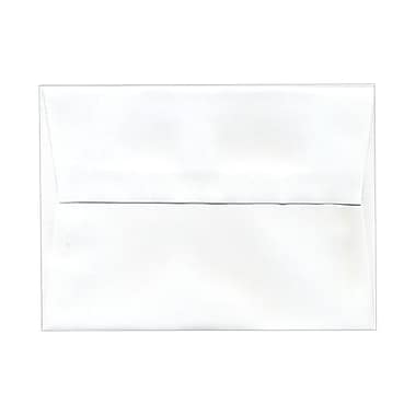 JAM Paper® A6 Invitation Envelopes, 4.75 x 6.5, White, 250/Pack (31820g)