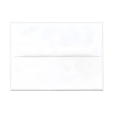 JAM Paper® A7 Invitation Envelopes, 5.25 x 7.25, White, 250/Pack (73767g)