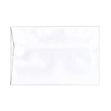 JAM Paper® A9 Invitation Envelopes, 5.75 x 8.75, White, 1000/Pack (04023213B)