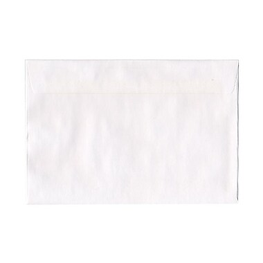 JAM Paper® 6.5 x 9.5 Booklet Envelopes, White, 200/Pack (4241g)