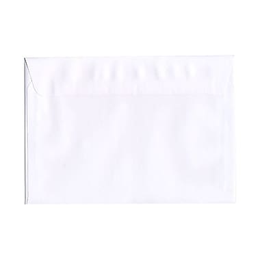JAM Paper® 7.5 x 10.5 Booklet Envelopes, White, 200/Pack (4246g)