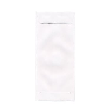 JAM Paper® Open End Straight Flap Envelopes with Gummed Closure, 4-1/2