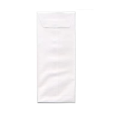 JAM Paper® #12 Policy Envelopes, 4.75 x 11, White, 1000/Pack (01623188B)