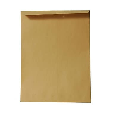 JAM Paper® 5.5 x 7.5 Open End Catalog Envelopes, Brown Kraft Recycled, 200/Pack (4101g)