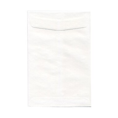 JAM Paper® 6 x 9 Open End Envelopes, White, 1000/carton (01623192B)