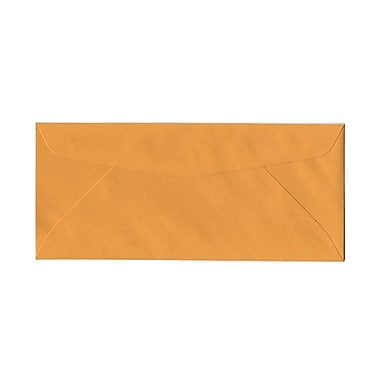 JAM Paper® #12 Business Commercial Envelopes, 4.75 x 11, Brown Kraft, 100/Pack (80762g)