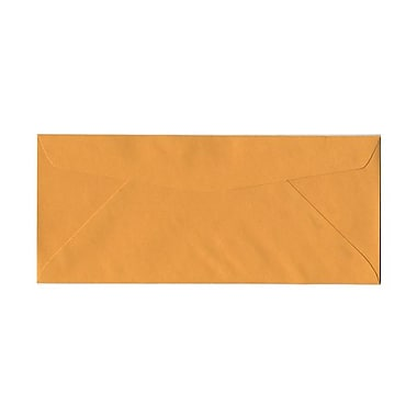 JAM Paper® #14 Business Commercial Envelopes, 5 x 11.5, Brown Kraft, 100/Pack (1633182g)