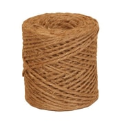 JAM Paper® Paper 3 Ply Natural Jute Kraft Twine, Brown, Sold Individually