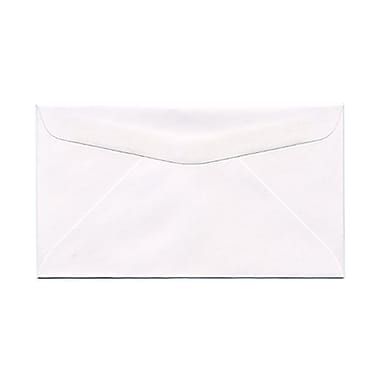 JAM Paper® #6.75 Commercial Envelopes, 3.63 x 6.5, White, 1000/Pack (01633983B)