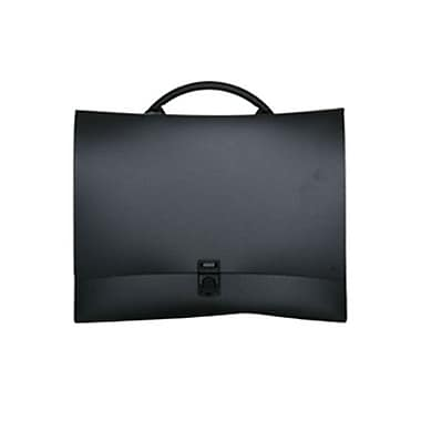 JAM Paper® 12 1/4in. x 8 3/4in. x 1 1/2in. Fashion Briefcases With Curve