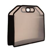 JAM Paper® 14 3/4 x 10 3/4 x 3 3/4 Carry Case With Handles, Clear, Sold Individually