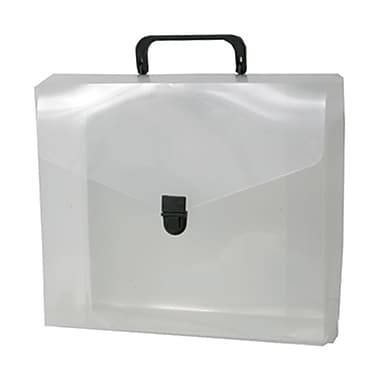 JAM Paper® 10in. x 12in. x 4in. File Carry Cases