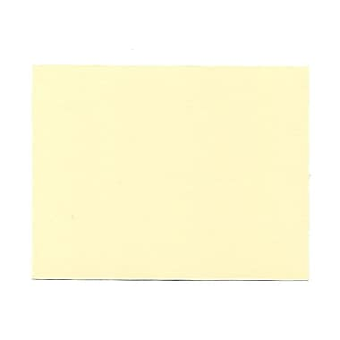 JAM Paper® 4 1/4in. x 5 1/2in. Blank Note Cards, Ivory, 100/Pack