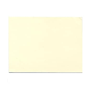 JAM Paper® Blank Note Cards, A6 size, 4.63 x 6.25, Natural White Impact, 500/Pack (48427B)
