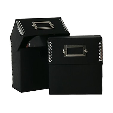 JAM Paper® Recycled CD Boxes With Metal Edge