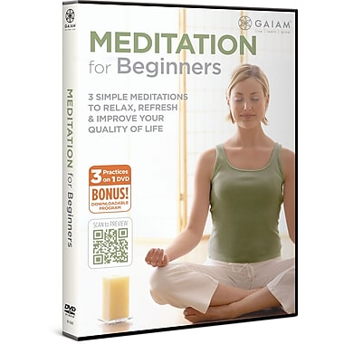 Gaiam® Rodney Yee and Maritza Meditation For Beginners [DVD]