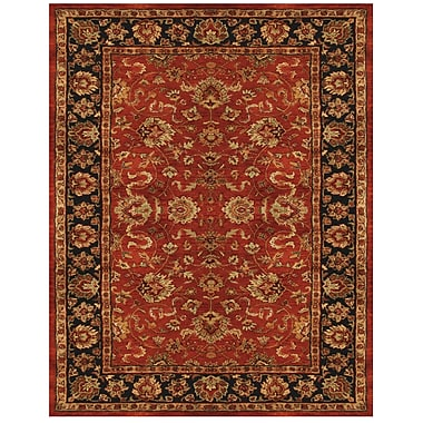 Feizy® Abbey Blended Pile and Fine Wool Border Rug, 9'3