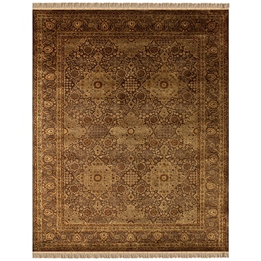 Feizy® Amore™ 5' x 8' Wool Pile Border Rugs