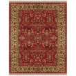 Feizy® Amore Wool Pile Traditional Rug, 8' x 8' Round, Red/Light Gold