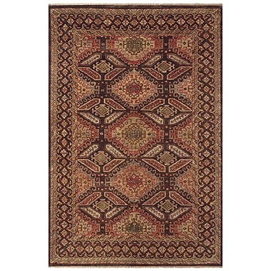Feizy® Isabella Pure Wool Pile Border Rug, 9'6