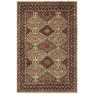 Feizy® Isabella Pure Wool Pile Border Rug, 7'9