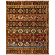Feizy® Isabella Pure Wool Pile Traditional Rug, 2'6 x 8', Multi