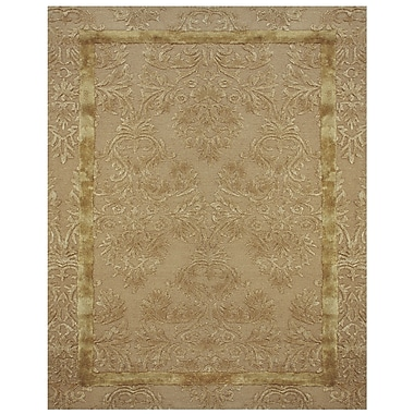 Feizy® Caprice™ 8' x 8' Round Wool and Art Silk Pile Contemporary Rugs